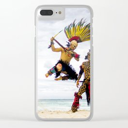 Battle of Gods Clear iPhone Case