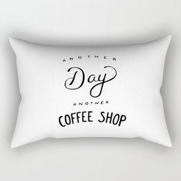 Mother day another coffee shop Rectangular Pillow