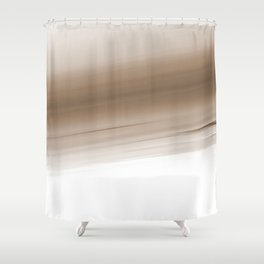 Beige Ivory Ombre Shower Curtain
