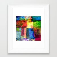water color Framed Art Prints featuring water color by Pao Designs