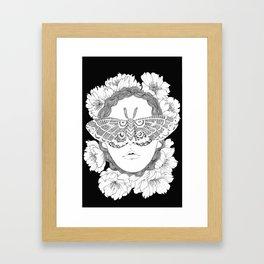 blind by beauty Framed Art Print