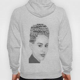 Miley Bangerz Album lyrics design Hoody