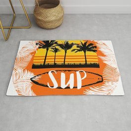 sup stand up paddeling Rug
