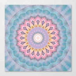 Mandala aquamarin Canvas Print