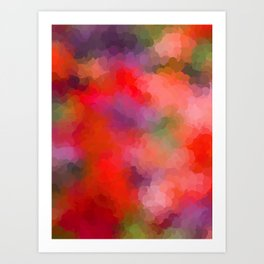 Rainbow Soup Art Print