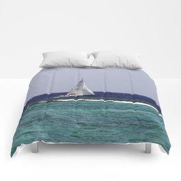 Sail Boat Comforters