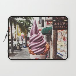 Purple ice-cream Laptop Sleeve