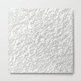 Silver Texture Metal Print