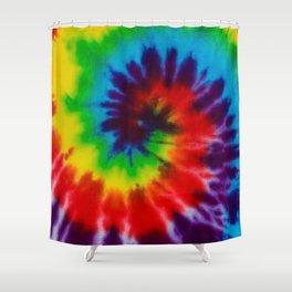Tie-Dye Shower Curtain