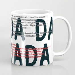 100 Years of DADA #3 Coffee Mug
