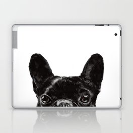 Peeking French Bulldog Laptop & iPad Skin