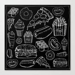 FOOD Leinwanddruck
