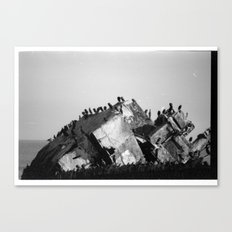 Shipwreck 1 Canvas Print