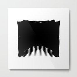 Ass Backwards Metal Print