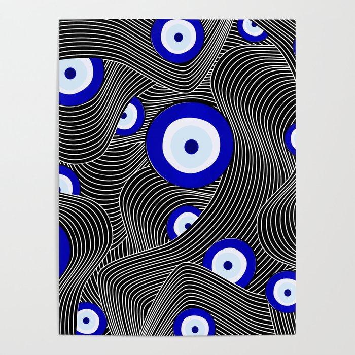 Swerve Evil Eye Poster