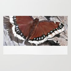Cloak of Mourning Butterfly Rug