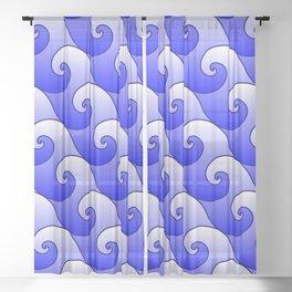 Surf Sheer Curtain