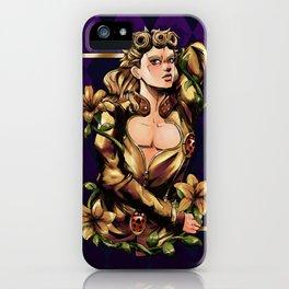 Giorno - Gold iPhone Case