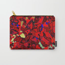 Retro Heart Camouflage No.3 Carry-All Pouch