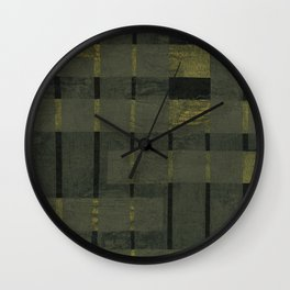 Understructure 2 Wall Clock
