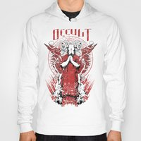 occult Hoodies featuring Occult by Tshirt-Factory