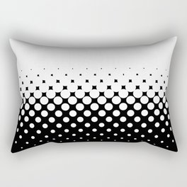 White Holes Rectangular Pillow