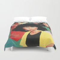 laura palmer Duvet Covers featuring Laura by Kyle Baker's QUALITY JOLLITY
