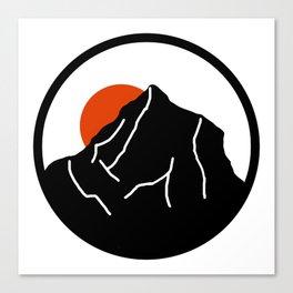 blood mountain Canvas Print