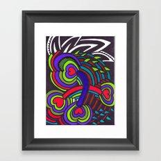 Heart's Desire Framed Art Print