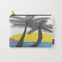 The Beach at Sunrise Carry-All Pouch