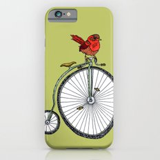 bird on a bicycle. iPhone 6s Slim Case