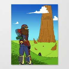 The Hike Canvas Print