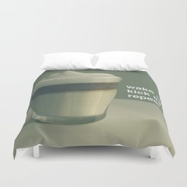 wake up Duvet Cover