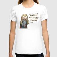 thranduil T-shirts featuring Thranduil Zombies  by BlacksSideshow