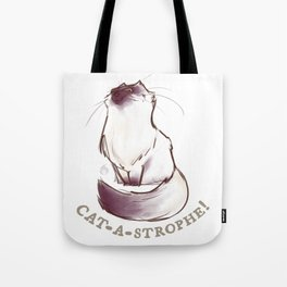 Cat - A - Stophe Tote Bag
