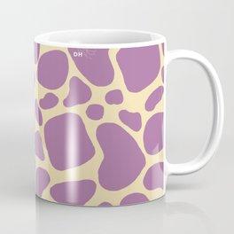 Purple Giraffe Print Coffee Mug