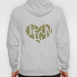 I Love Oregon Hoody