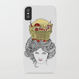 The Queen of Montreal iPhone Case