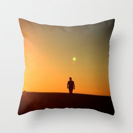 First Moonrise on Tatooine Throw Pillow