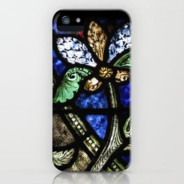 St. Denis Stained Glass 1 iPhone Case