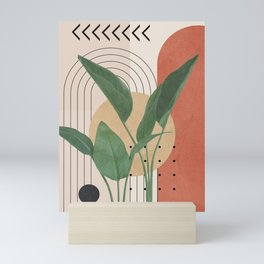 Nature Geometry V Mini Art Print