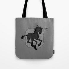 Dark Unicorn Tote Bag