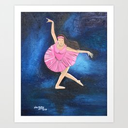 the dance of freedom Art Print