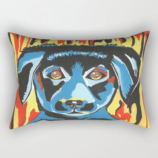 Got The Blues Rectangular Pillow