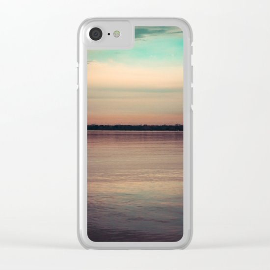 Drowning In Memories Clear iPhone Case