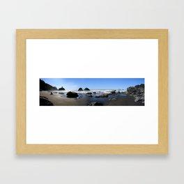 False Klamath Cove Framed Art Print