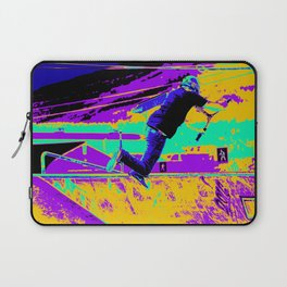 Tail Whip Tryout  - Stunt Scooter Laptop Sleeve