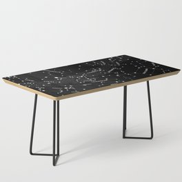 Constellation Map - Black Coffee Table