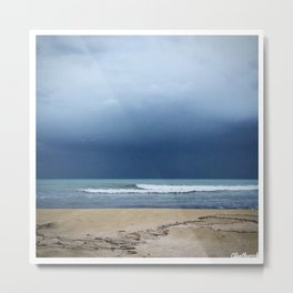 Maybe Not The Best Weather? Metal Print