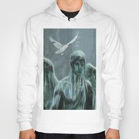 angel Hoodies featuring Angel by Lucia